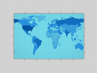 world data map grid thing