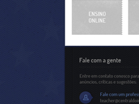Footer - Central do Inglês