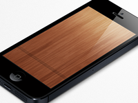 Wood Wallpaper for iPhone 5