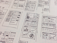 User Profile Wireframes