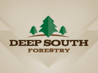 Deep South Forestry Logo