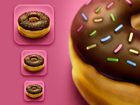 Donut iPhone Icon