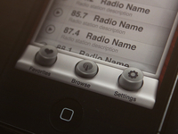 Radio App - Browser