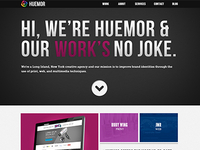 Huemor New Web Design