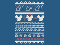 Disney Holiday Pattern