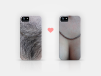 """His & Hers"" iPhone cases"