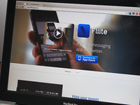Fliite - A group Messaging App for Twitter