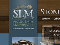Stone Ledge Manor Logo / Website Header