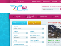 EVA travel web