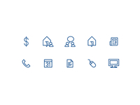 Propertyspot icon set
