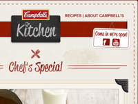 Campbell's Kitchen EDM Header