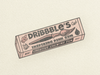Dribbble Chewing Gum ...