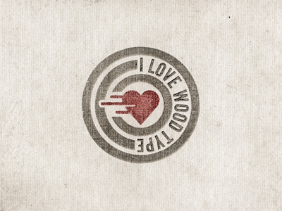 I-love-wood-type-