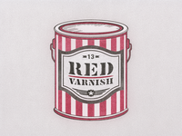 Red Varnish Can ...