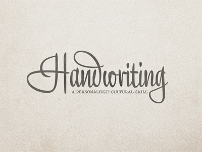 Handwriting-