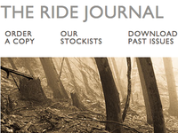 The Ride Journal website