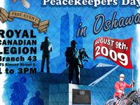 Oshawa Peacekeepers Day Poster