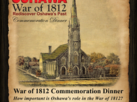 Oshawa War of 1812 Poster - Simcoe United Church Dinner