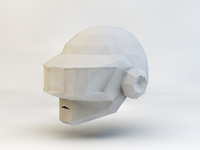 Daft Punk Helmet 3d Small