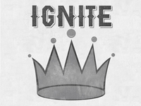 Ignite Four Square Shirt Design