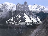 Snowy Mountain Root Display