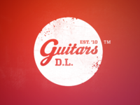 DL Guitars Retro Logo