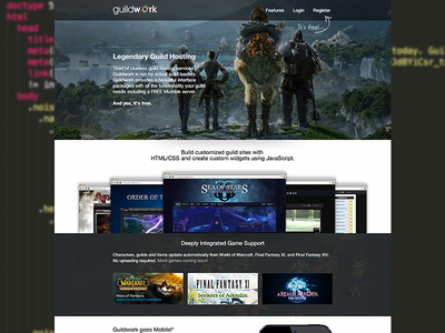 Guildwork.com — New design is live!