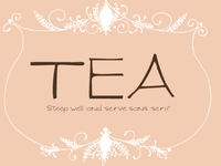 Tea-Original Typeface