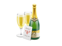 Champagne  Soda  Bubbles  Wine Glasses  Holiday  Booze  Wine  Ic