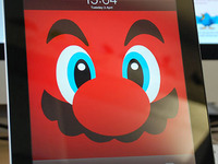 Mario inspired Retina iPad/iPhone Wallpapers