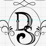 D+S Wedding Monogram