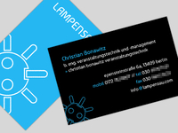 business card: lampensau (final)