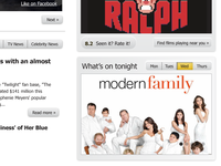 IMDb Website Redesign Homepage Detail