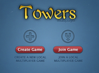 Towers multiplayer screen