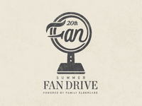 Summer Fan Drive Logo