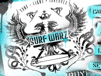 Surf Warz iPhone game