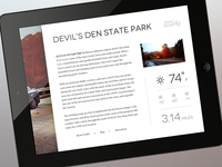 DriveOzarks iPad Preview