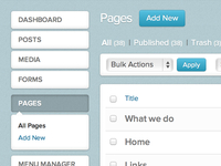 WordPress Dashboard Reskin v2