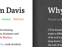 Next iteration of my blog