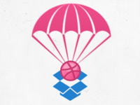 Dribbble Drop Logo