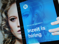 Inzeit is hiring