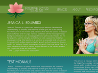 Website Design for Massage Therapist