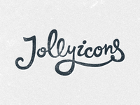 Jolly Icons Logo — draft 1