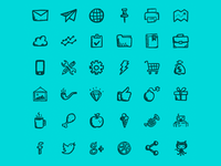 Hand-drawn Icons