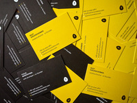 Hatchers business cards