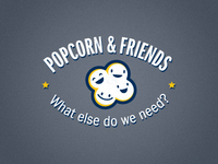 Popcorn & Friends Logo