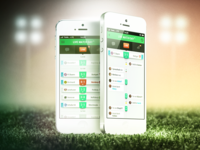 Life Match Day - COBE München User Interface