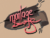 montage sauvage Tattoo
