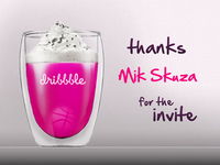 Dribbble Thanks Mik