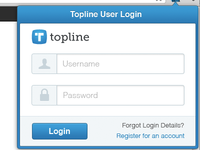 Browser Popover Login